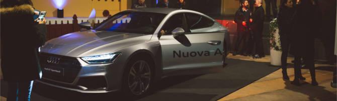 Presentazione della nuova Audi A7 2018